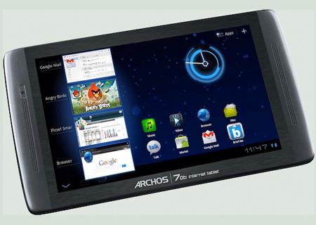 ARCHOS 70b internet tablet m2