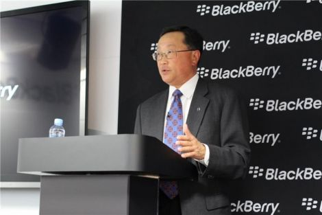 blackberry lascia smartphone