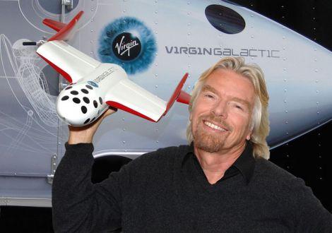 Branson Virgin Galactic Kutcher
