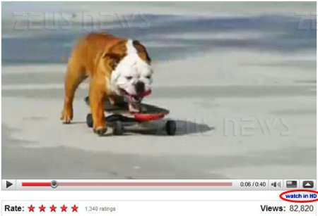 YouTube alta definizione watch in HD