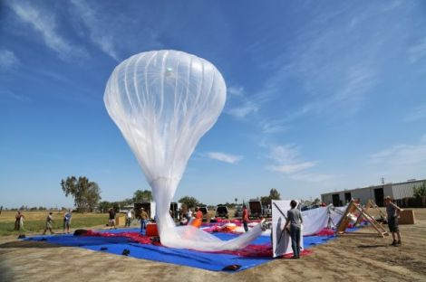 google project loon un anno