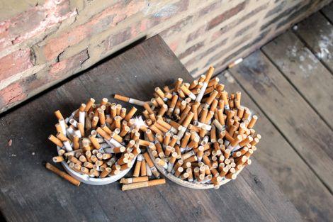 supercondensatori mozziconi sigarette filtri