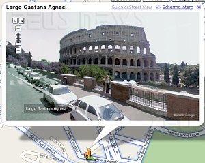 Google Street View Italia Milano Roma Firenze Como