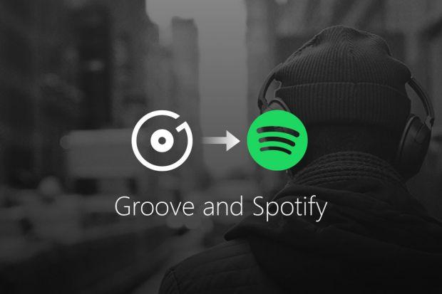 groove music pass addio