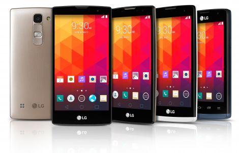 LG Nuova Serie Smartphone