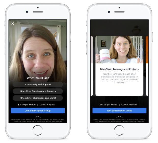 facebook gruppi pagamento