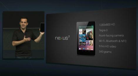 google asus nexus7 tablet