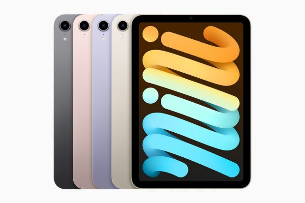 Apple iPad mini jelly scsrolling