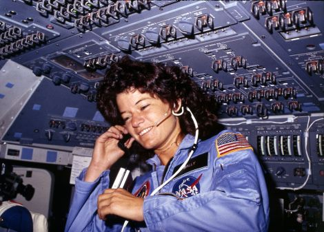 Sally Ride, America's first woman astronaut commun