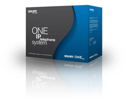 Snome One Blue PBX