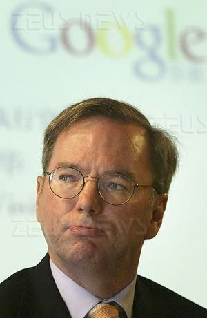 Eric Schmidt Ceo di Google appoggia Barack Obama