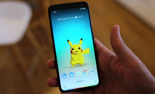 google pixel 4 pikachu2