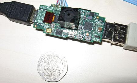Raspberry Pi PC su chiavetta USB David Braben