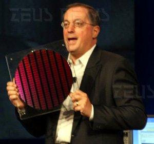 Intel innocente Otellini wafer 22 nanometri