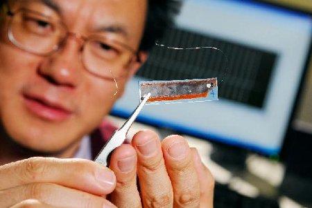 Wang nanogeneratore piezoelettrico cuore iPod