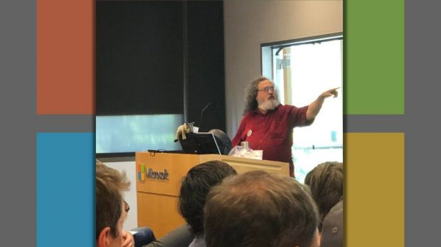 Richard Stallman Microsoft