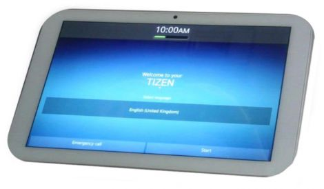 Sistema operativo TZEN su tablet