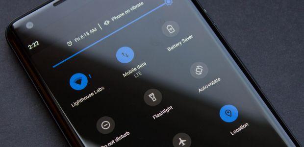 android dark mode risparmio batteria