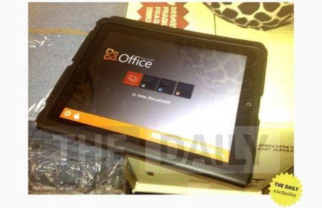 microsoft office ipad app bufala