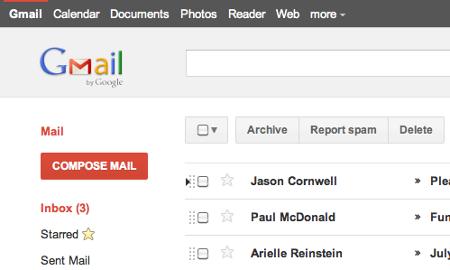 Gmail nuovo look Calendar Google+