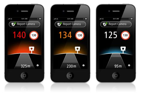 TomTom App Autovelox iPhone