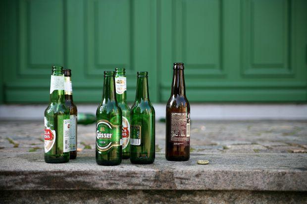 germania birra caldo bottiglie vetro