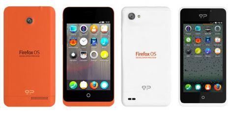Geeksphone Keon Peak in vendita Firefox OS