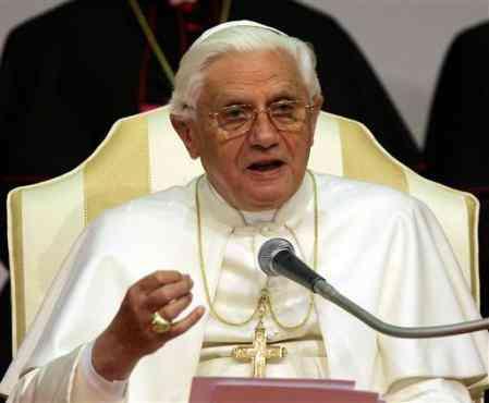 Papa Benedetto XVI domenica palme tecnica