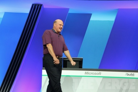 Ballmer BUILD Conference Windows 8