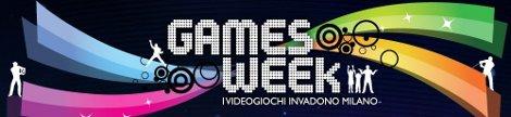 Games Week Milano 4-6 novembre videogiochi