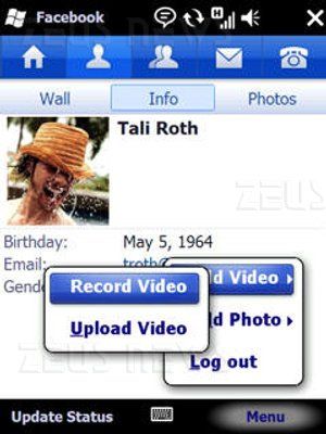 Microsoft Facebook for Windows Mobile