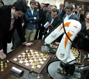 Robot scacchi Vladimir Kramnik