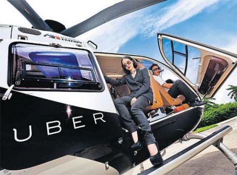 uber elicotter