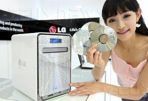 Lg N4B1 Nas masterizzatore Blu Ray