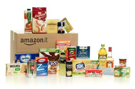 Amazon Italia inaugura il negozio di alimentari