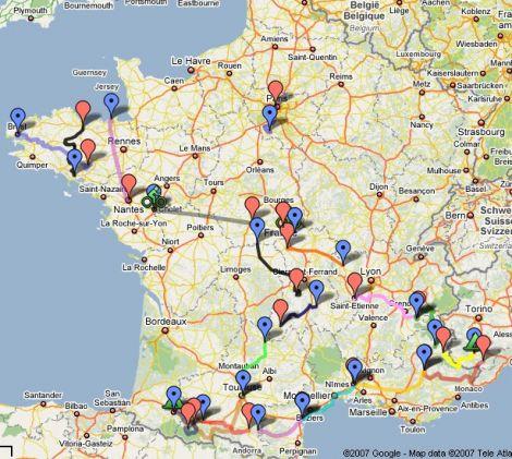 google maps posizione dominante francia