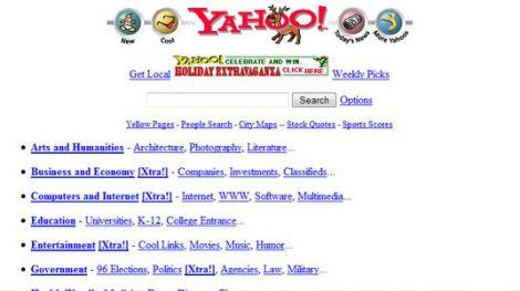yahoo directory 1996