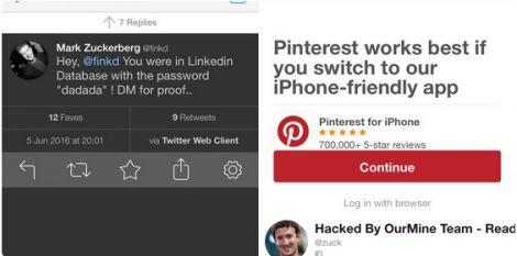 zuckerberg password violata