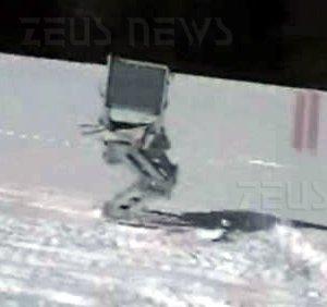 Robot che scia Bojan Nemec