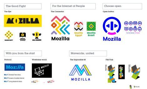 mozilla nuovo logo