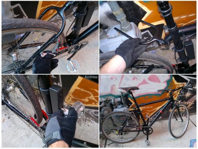 StayLocke antifurto lucchetto bici Leinon