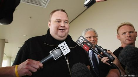 kim dotcom copia dati fbi