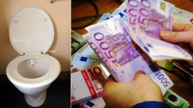500 euro toilet