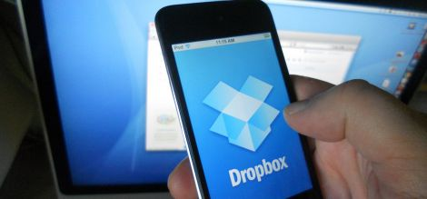 dropbox password