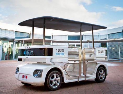 induct navia driverless electric vehicle