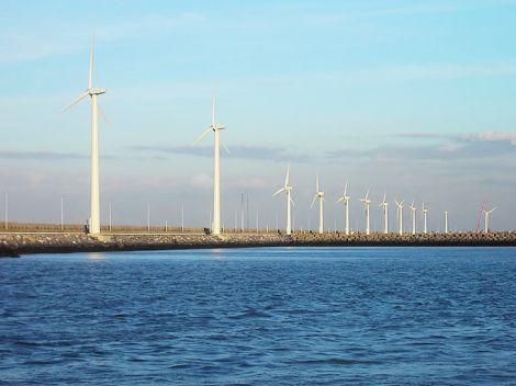 Windmills Zeebrugge
