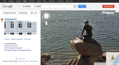 Google Street View sirenetta