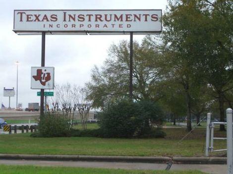 texas instruments licenzia