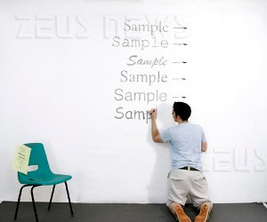 Matt Robinson test font consuma inchiostro