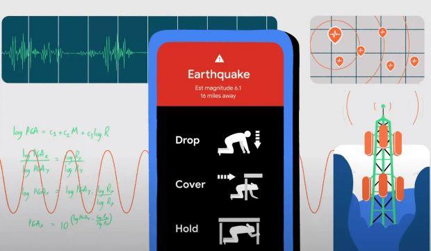 google android terremoti
